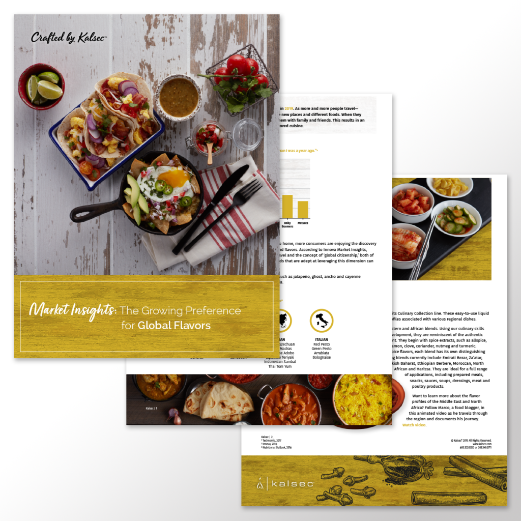 Kalsec® Global Flavors Insight Brief